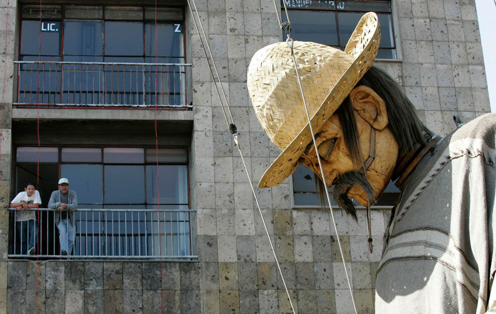 法国Royal De Luxe 剧团的大型街头木偶 - wuwei1101 - 西花社