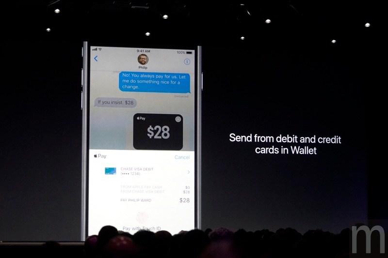 iOS 11 支付功能 8220;Cash 8221; 不會隨正式版一起登場