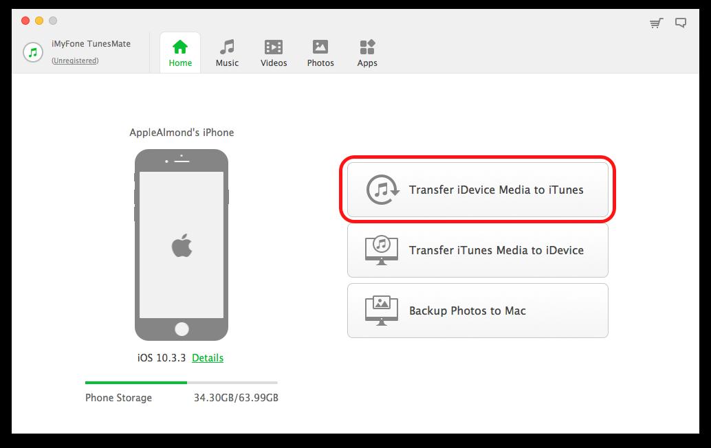 iMyFone TunesMate 加入資料庫1