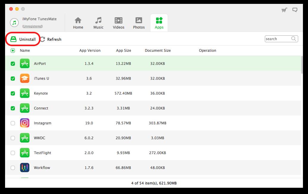 iMyFone TunesMate 管理App