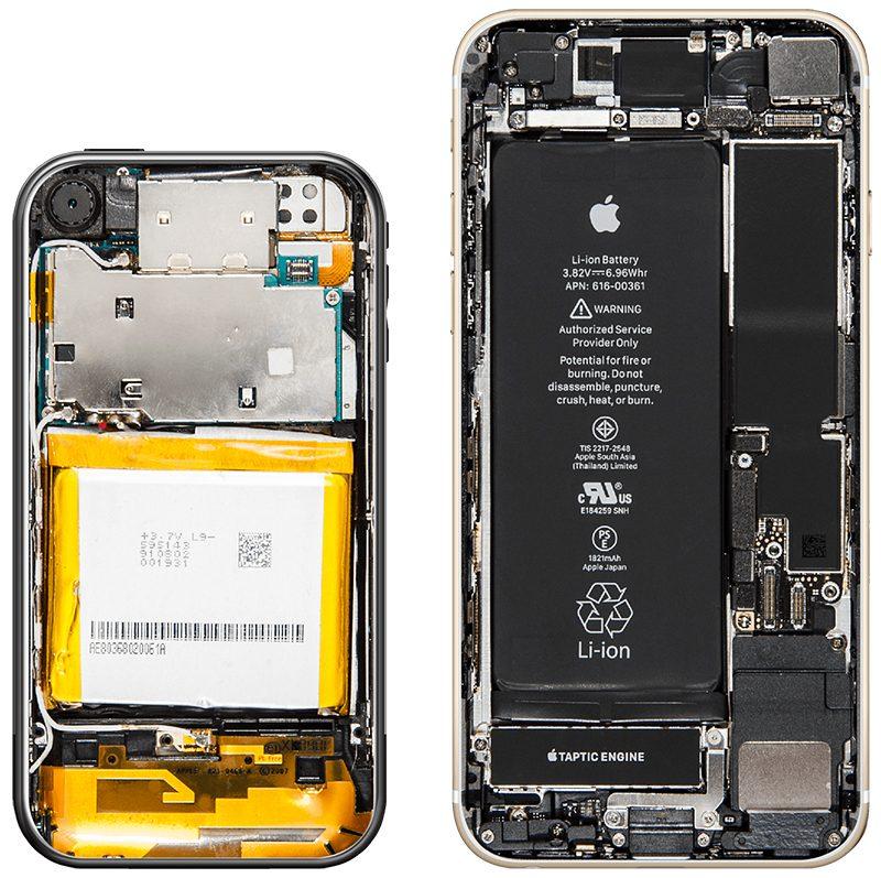 初代iPhone對比iPhone8