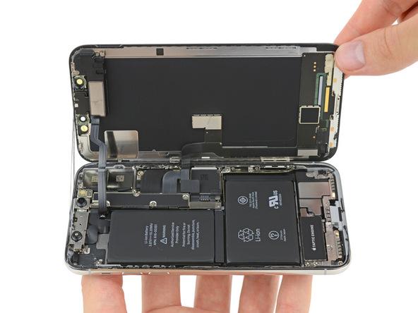 iPhone X拆解:側翻式拆解