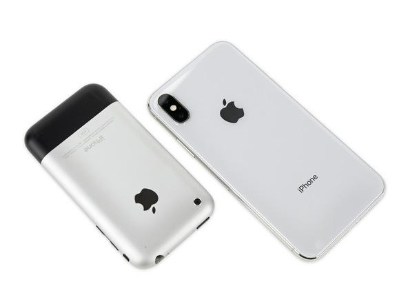 iPhone X Vs. iPhone 2G