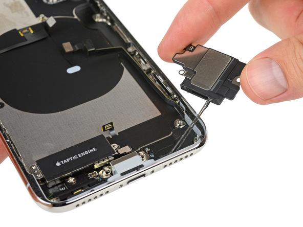 iPhone X拆解:喇叭
