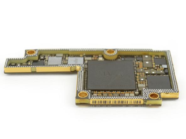 iPhone X拆解:環繞設計的PCB板