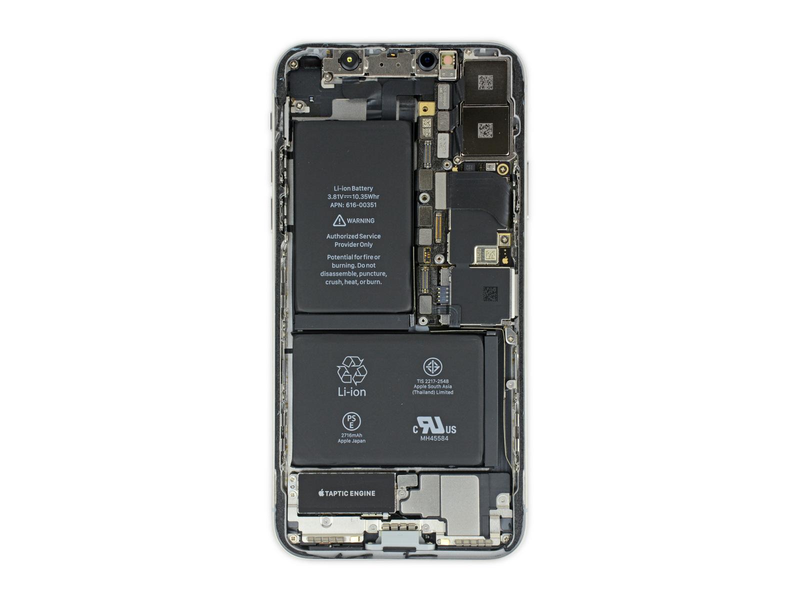 iPhone X拆解:關於機身...