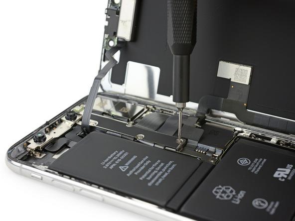 iPhone X拆解:擋版採用Y型螺絲固定