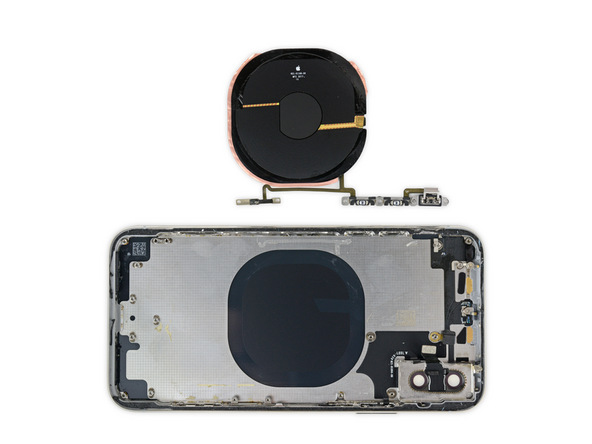 iPhone X拆解:無線充電模組