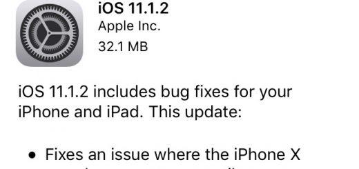 iOS 11.1.2 Banner