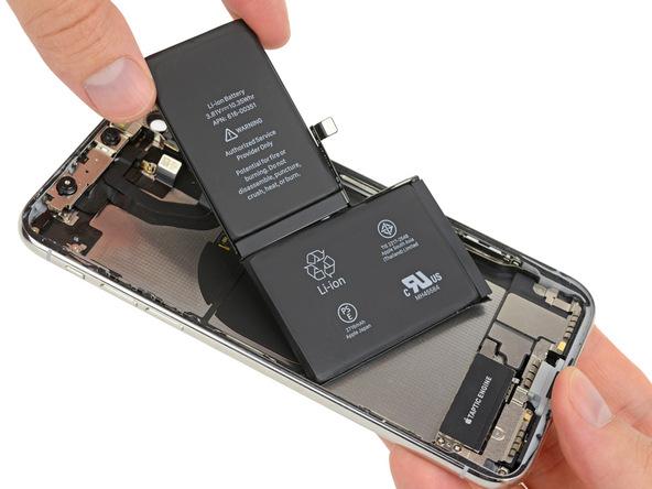 iPhone X拆解:電池資訊