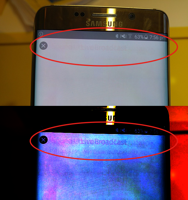 OLED 螢幕烙印