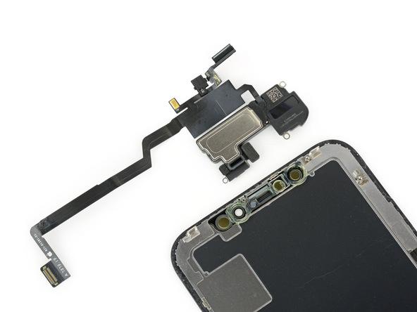 iPhone X拆解:螢幕上的零件