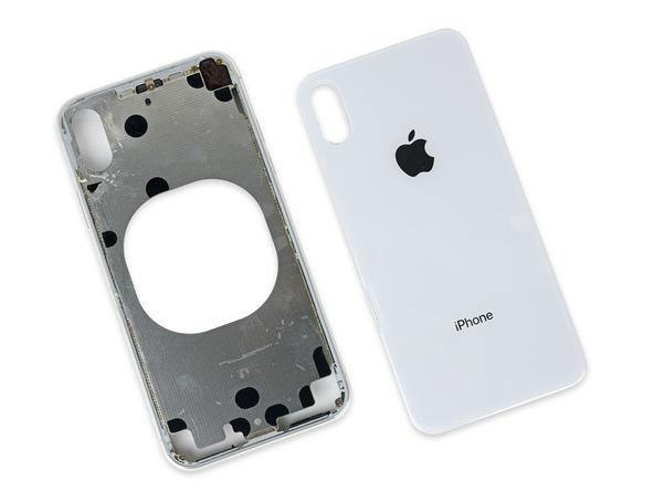 iPhone X拆解:玻璃背板