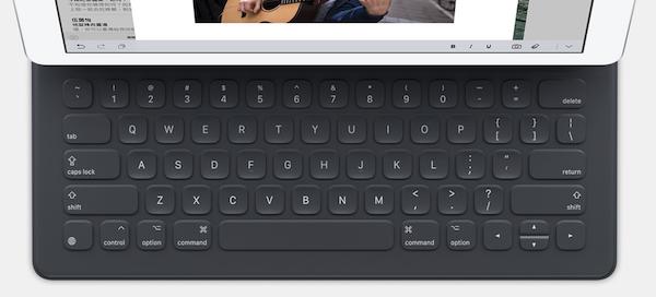 Smart Keyboard 佈局