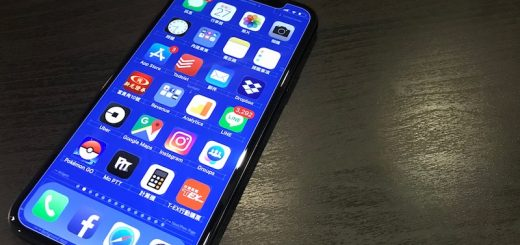 iPhone X 藍圖桌布