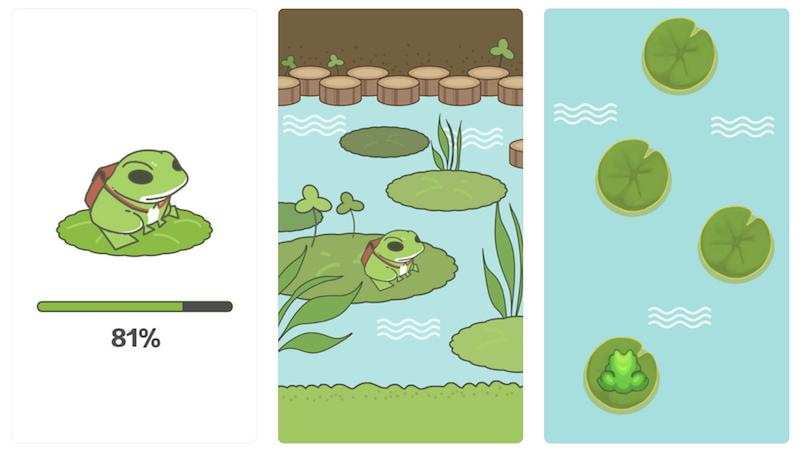 山寨旅行青蛙