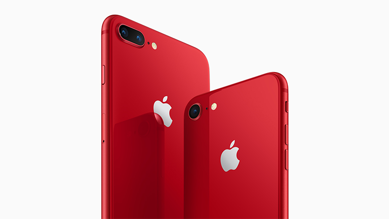 (product)red 紅色 iPhone