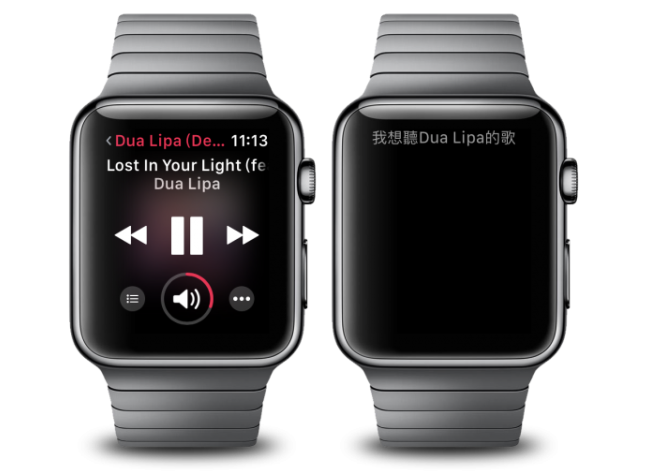 Apple Watch 聽音樂