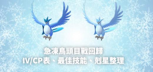 急凍鳥IV/CP表