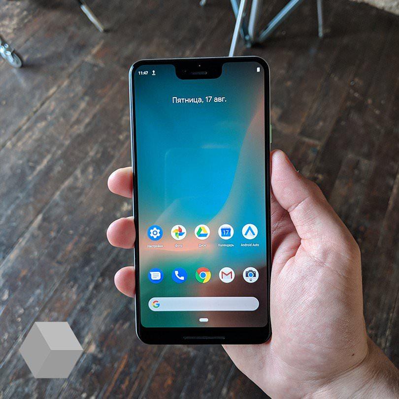 Google的下一代原生手机「Google Pixel 3 XL」高清外观照片、实拍照片都曝光了!