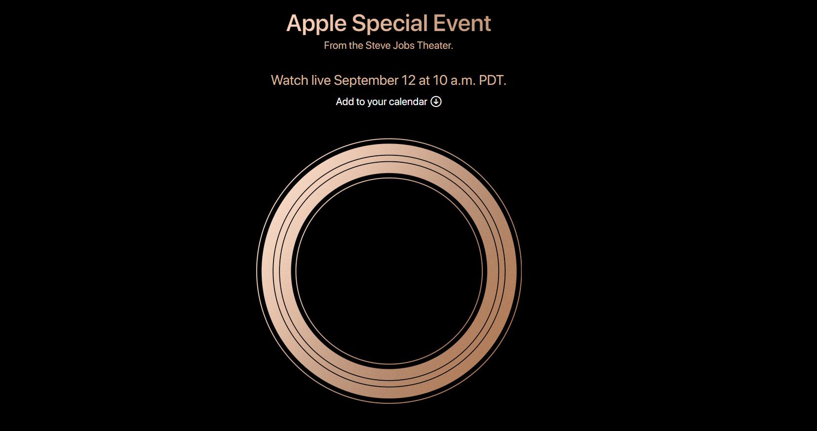 2018 蘋果發表會 iPhone 發表