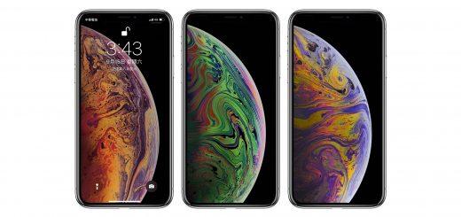 iPhone XS 桌布