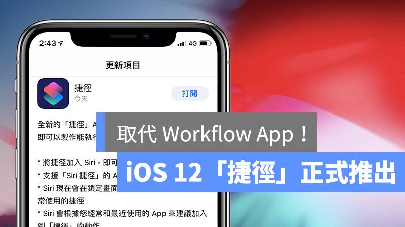 iOS 捷徑 App、Shortcut