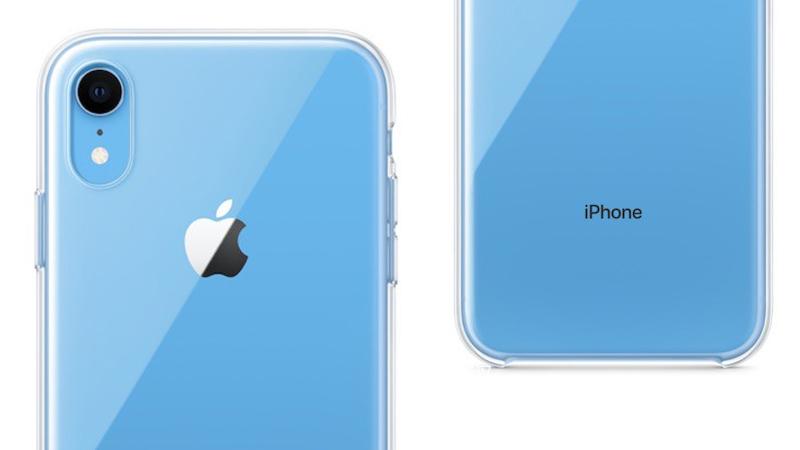 苹果在某些国家发布的新闻稿中提到了一款iPhone XR的「透明保护套」。