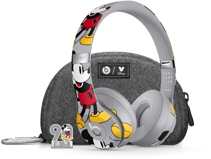 苹果与迪士尼合作推出限量版的米奇Beats Solo 3无线耳机
