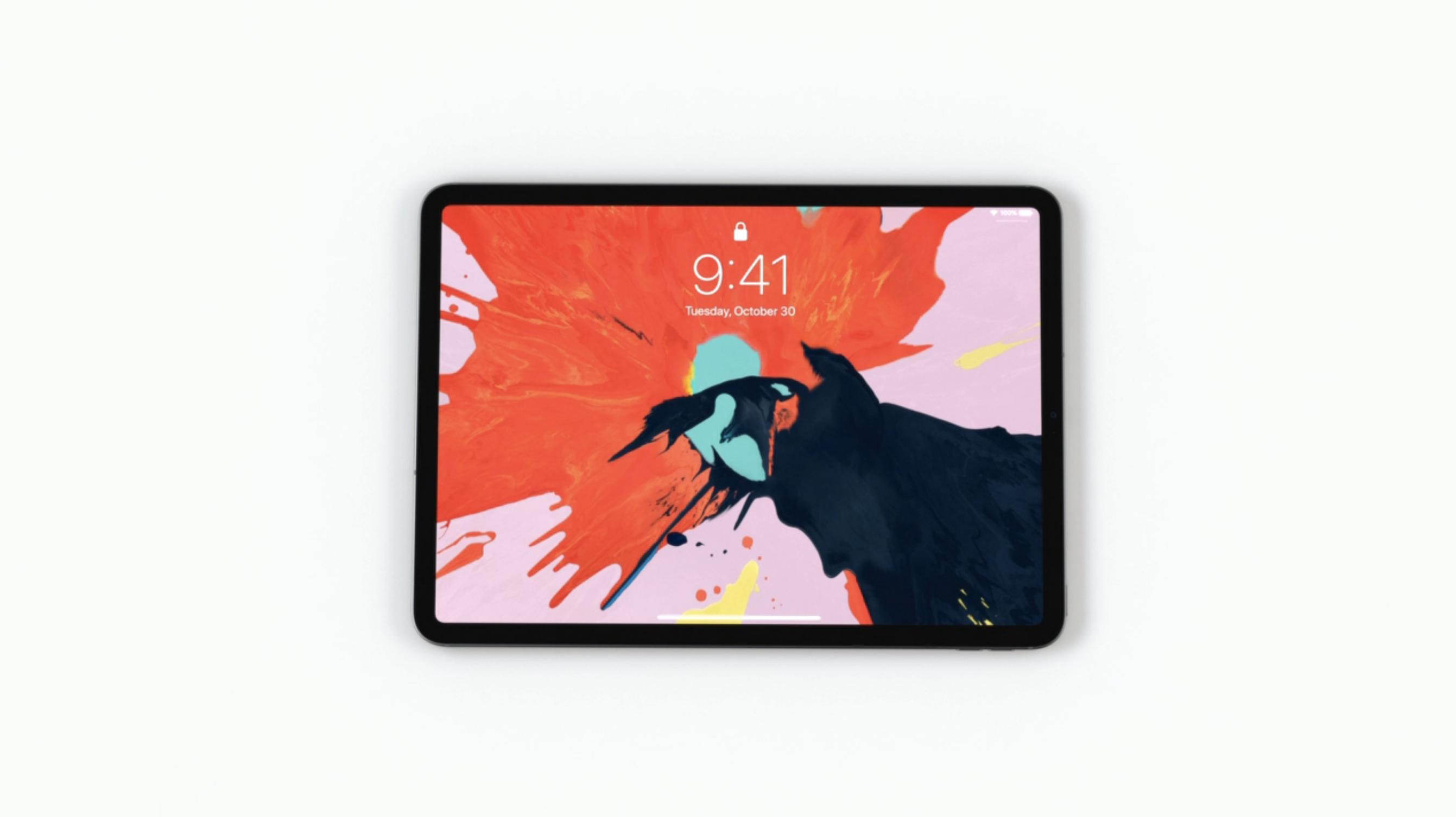自从iPad 问世以来最大的外型改变达到了「全萤幕」的设计