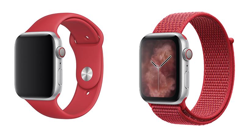 蘋果推出了全新 (PRODUCT)RED 運動型錶環