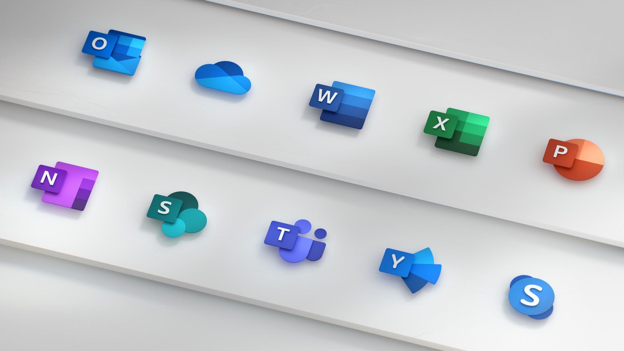 下面那些 icon 中,你認的出分別代表哪些程式嗎?